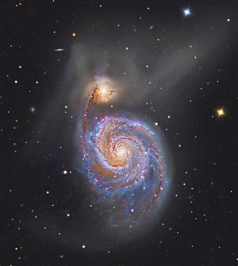 whirlpool galaxy m51 galaxy cross inside planets pics about space
