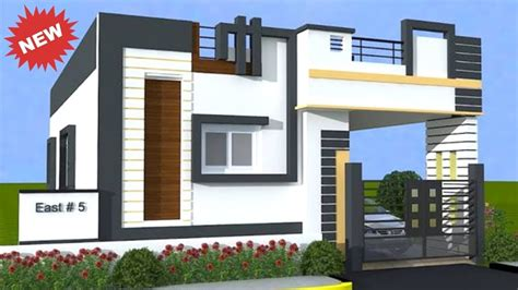 latest single floor house elevation designs house