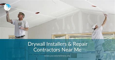 drywall installrepair contractors    price quotes