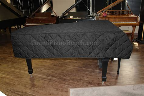 Cover Piano Grand grand piano cover for pianos 5 3 quot to 5 6 quot quilted black