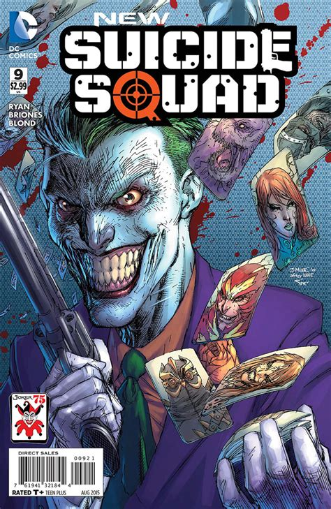 New Wig Harley Squad Justice League Joker new squad 9 the joker variant cover value gocollect