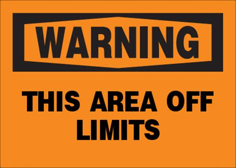 Butterfly Wall Art Stickers warning this area off limits sign