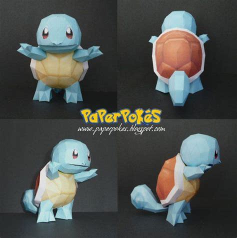 3d Origami Squirtle - 145 best images about water on mudkip