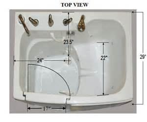 walk in tubs in swing door home solutions usa