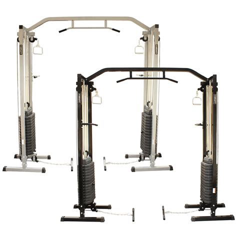 mirafit cable crossover exercise home machine pull