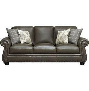 bennett leather sofa bennett sofa art van furniture