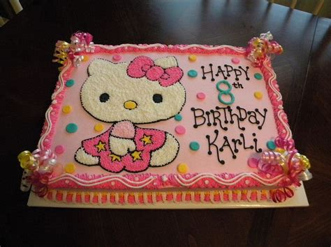 kitty birthday cakes  walmart    commons getty collection galleries