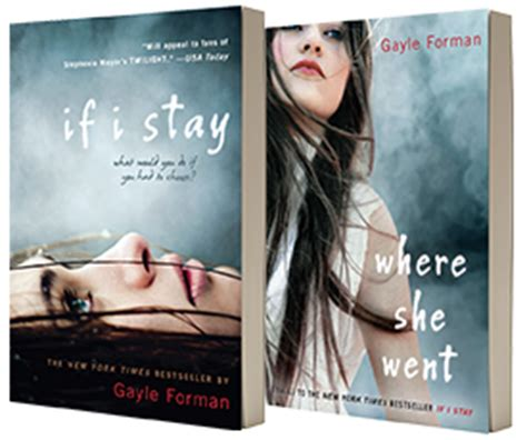 if i stay series 1 gayle forman