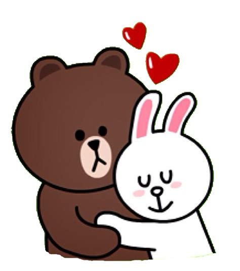 Correction Brown Cony Sally Line Emoticon Sticker Png Www Imgkid The Image Kid