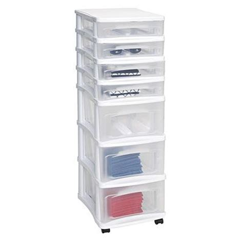 cheap plastic drawer organizers bella storage solutions 7 drawer plastic cart at big lots