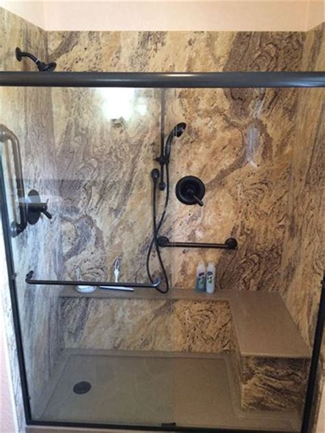 granite shower bench best 25 granite shower ideas on pinterest