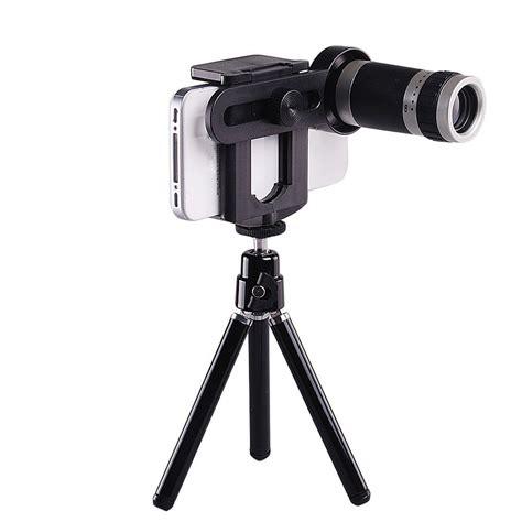 Lensa Telezoom Universal Tripod Holder Tripod 9 universal 8x optical zoom telescope lens tripod