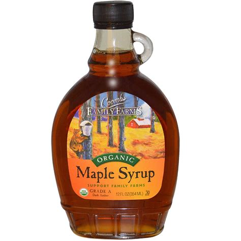 Maple Syrup coombs family farms organic maple syrup 12 fl oz 354 ml