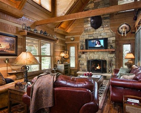 Log Home Decorating Photos 1000 Images About Log Cabin Decor On Pinterest