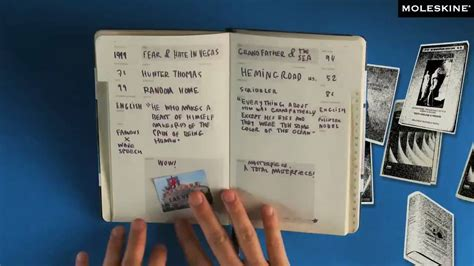 moleskine book journal template moleskine passions book journal