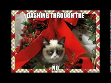Christmas Music Meme - grumpy cat christmas memes with xmas music youtube