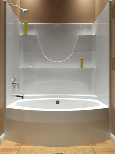one piece shower with bathtub clubnoma com