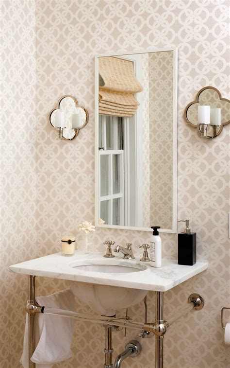 How High Should Bathroom Wall Sconces Be Mounted Modern Colonial House Renovation Bethesda Maryland