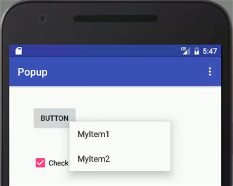 android layout context menu android adventures menus context popup