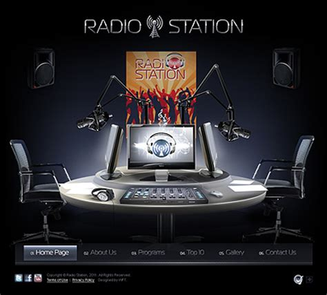 radio templates radio station website template free 05 27 06 02 16