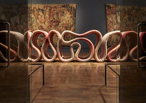 design love fest london ross lovegrove snakes 21 meter long three dimensional