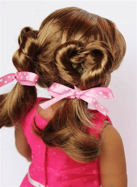 B5 Styles Beautiful Valentines by Doll Hairstyle For Adworks Pk