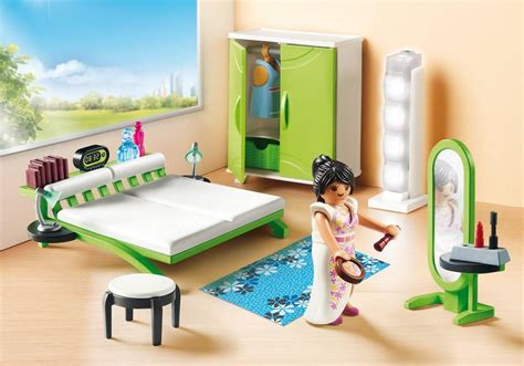playmobil bett playmobil set 9271 bedroom klickypedia