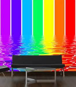 Rainbow Wall Mural Decorating Theme Bedrooms Maries Manor Rainbow Theme