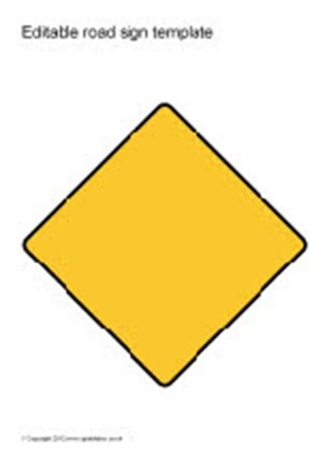 Editable Road Sign Templates Sb8448 Sparklebox Editable Road Sign Template