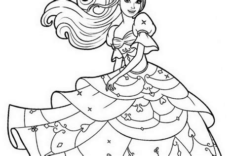 barbie rainbow coloring pages printable coloring pages barbie coloring home