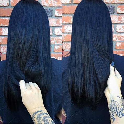 black and blue hair color 20 amazing blue black hair color looks blushery