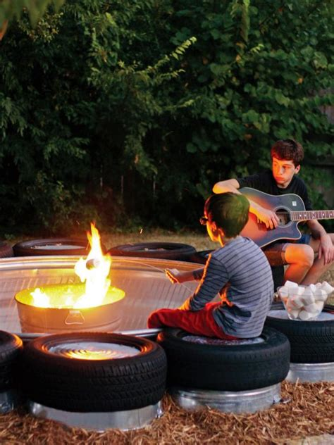 build  stock tank fire pit fire pit ideas  outdoor
