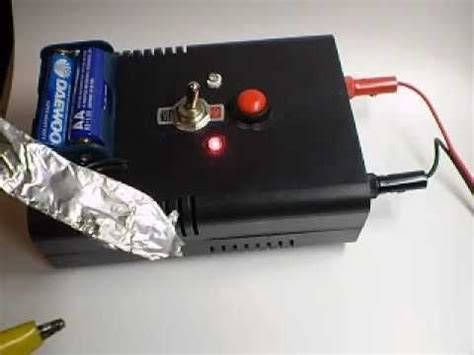 how to charge a disposable capacitor disposable capacitor bank diy device demonstration