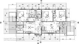build blueprints running around southern live oak