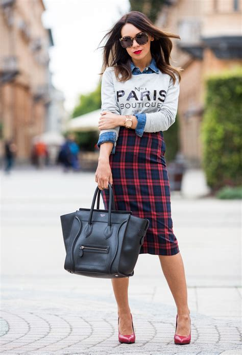 Rok Pensil Skrit 14 ways to rock the style of pencil skirts pretty designs