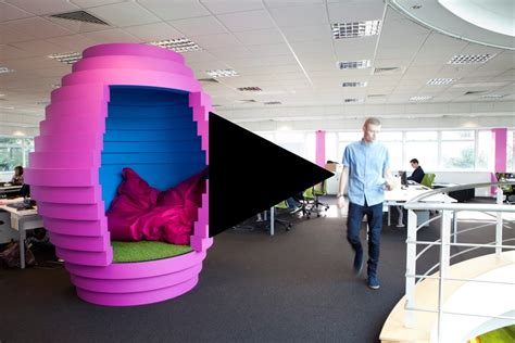 Creative Ideas For Home Interior spectrum workplace hive meeting pod a funky informal