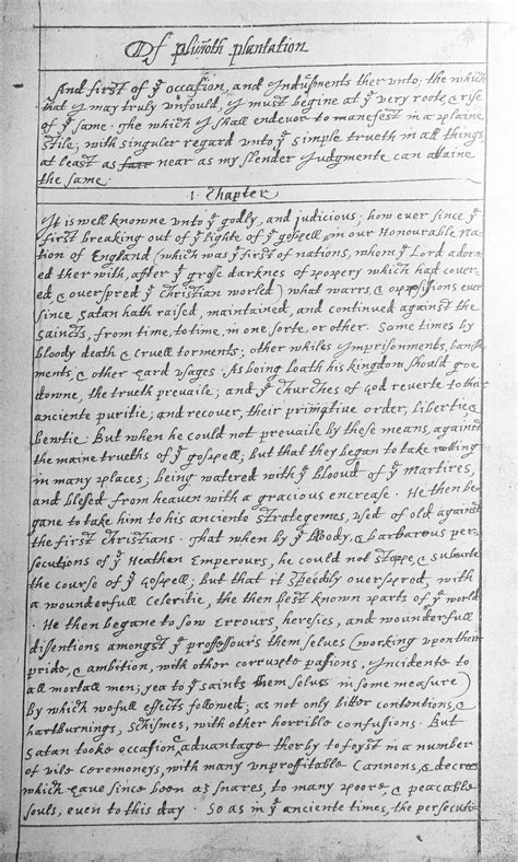 william bradford of plymouth plantation book 1 summary of plymouth plantation simple the