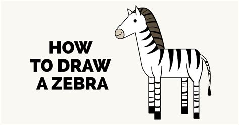 zebra pattern how to draw how to draw a zebra really easy drawing tutorial