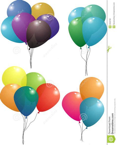 balloon set balloon set royalty free stock photos image