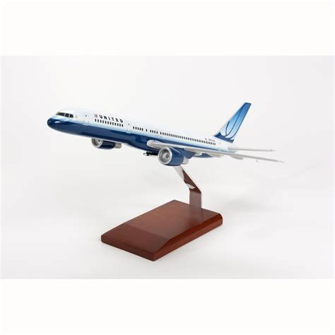 commercial model planes b757 200 united model aircraft 1 100 scale commercial