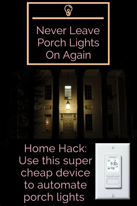 Install Front Porch Light Timer 100 How To Install A Porch Front Door Light Timer