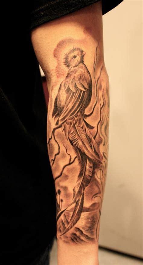 fotos de tatuajes de quetzales 7 coloridos tatuajes del quetzal el p 225 jaro sagrado de los