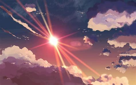 imagenes tumblr para fondos de pc tumblr sol cielo nubes anime fondos de pantalla gratis