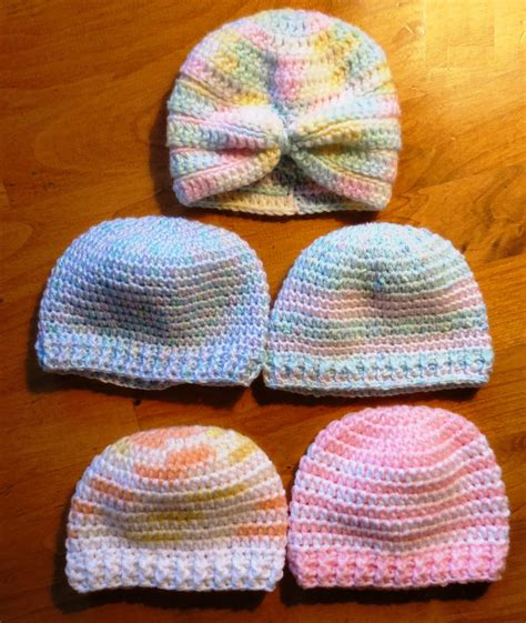pattern finder crochet more crocheted baby hats my recycled bags com