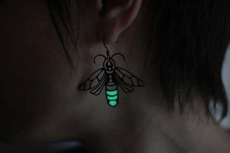 glow in the dark lightning tattoo firefly jewelry earrings glow in the from glimmerworks