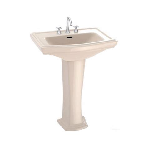 toto bathroom sink faucets toto clayton 27 in pedestal combo bathroom sink with 4 in