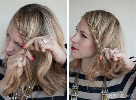 tutorial rambut panjang lurus tutorial gaya manis dengan rambut kepang berenda