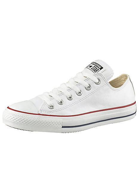 Converse All Fullwhite Sneakers Putih converse white all basic ox leather sneakers swimwear365