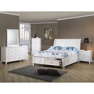 hermosa selena storage bedroom set coaster