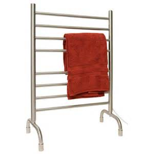 bathroom towel warmers 24 quot contemporary freestanding plug in towel warmer